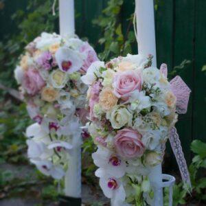 Lumanari-de nunta-cu-orhidee-alba
