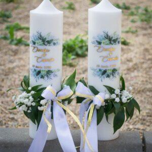 Lumanari-de-nunta-elegante
