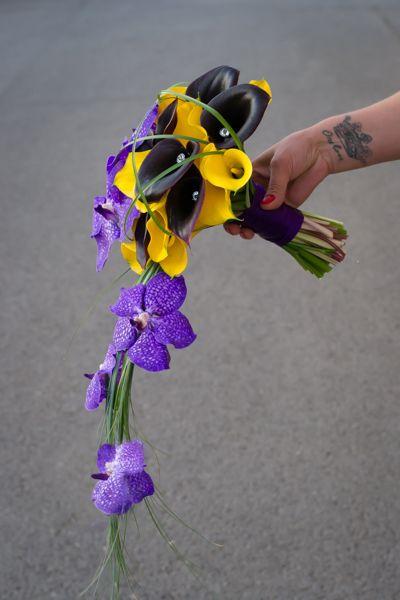 Buchet nasa orhidee vanda