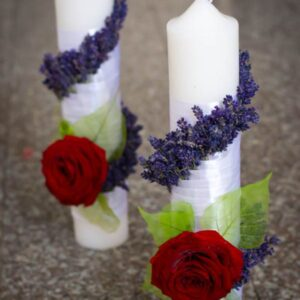 lumanari-nunta-model-simplu